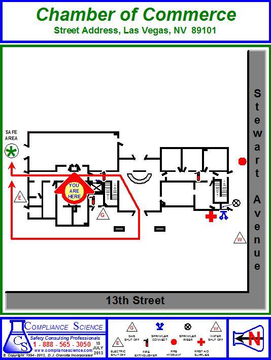 Emergency Evacuation Maps