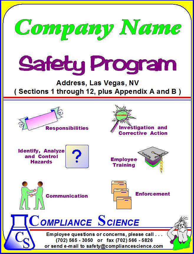 Safety program qualities of a successful floor safety for Workplace safety program template